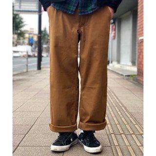 夕陽のTシャツ SUNSET / ORIGINAL WORK PANT - BROWN オリジナル ワークパンツ ブラウン