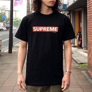 POWELL PERALTA /  SUPREME S/S TEE - BLACK