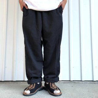 <img class='new_mark_img1' src='https://img.shop-pro.jp/img/new/icons5.gif' style='border:none;display:inline;margin:0px;padding:0px;width:auto;' />RED KAP / PS54 SUN POLY BAGGY CHEF PANTS - BLACK