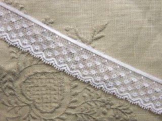 LR02029 綿リバーレース 2.5cm巾