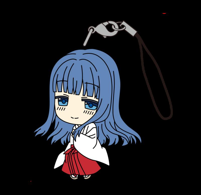 マギアレコード魔法少女まどか☆マギカ外伝 ラバーストラップ(巫女) やちよ画像
