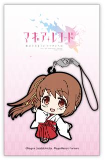 マギアレコード魔法少女まどか☆マギカ外伝 ラバーストラップ(巫女) 鶴乃イメージ