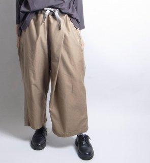 asymmetry rib pants (アシンメトリー リブパンツ)