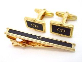 ディオール Christian Dior/ネクタイピン&カフス【中古】【S0566】