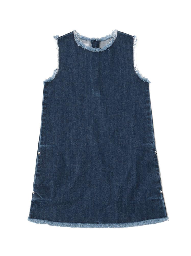 Sleeveless Crewneck Dress<br>[Women's]<br><img class='new_mark_img2' src='https://img.shop-pro.jp/img/new/icons16.gif' style='border:none;display:inline;margin:0px;padding:0px;width:auto;' />