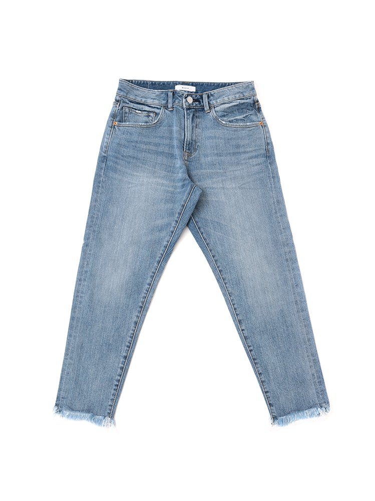 <img class='new_mark_img1' src='//img.shop-pro.jp/img/new/icons2.gif' style='border:none;display:inline;margin:0px;padding:0px;width:auto;' />High Waist Selvedge Jeans<br>[Women's]<br>