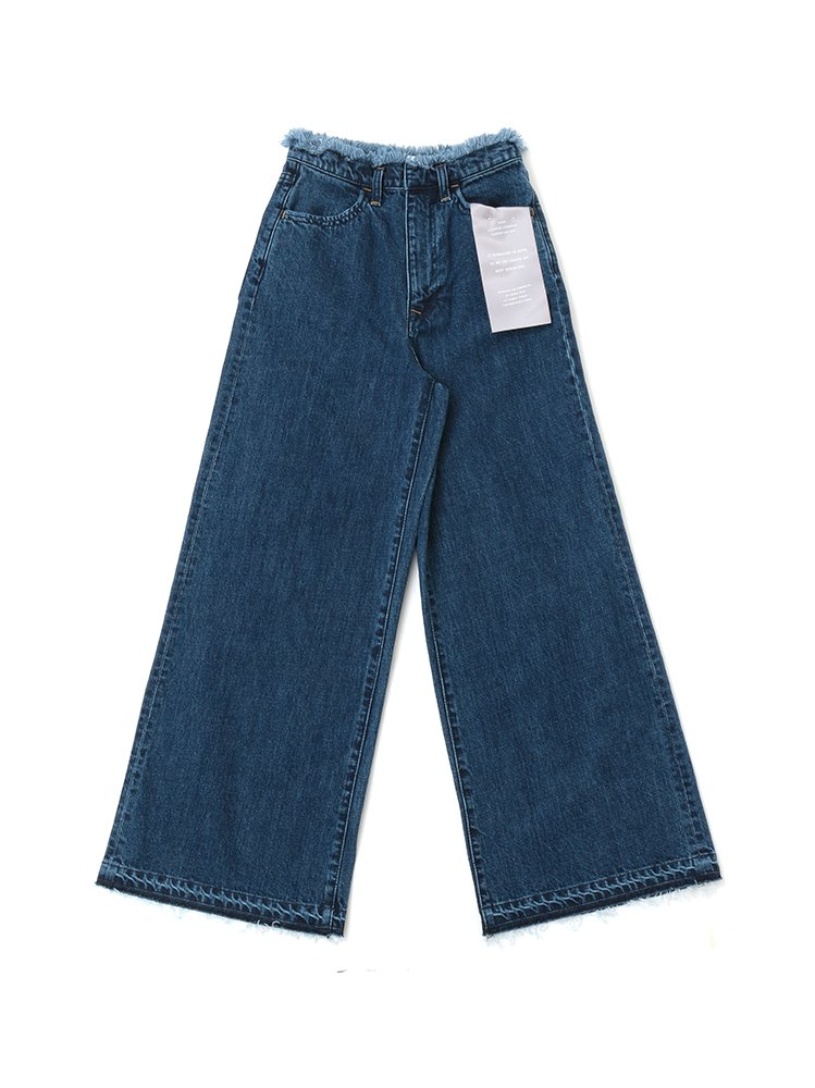<img class='new_mark_img1' src='https://img.shop-pro.jp/img/new/icons33.gif' style='border:none;display:inline;margin:0px;padding:0px;width:auto;' />Wide Jeans<br>[Women's]<br>