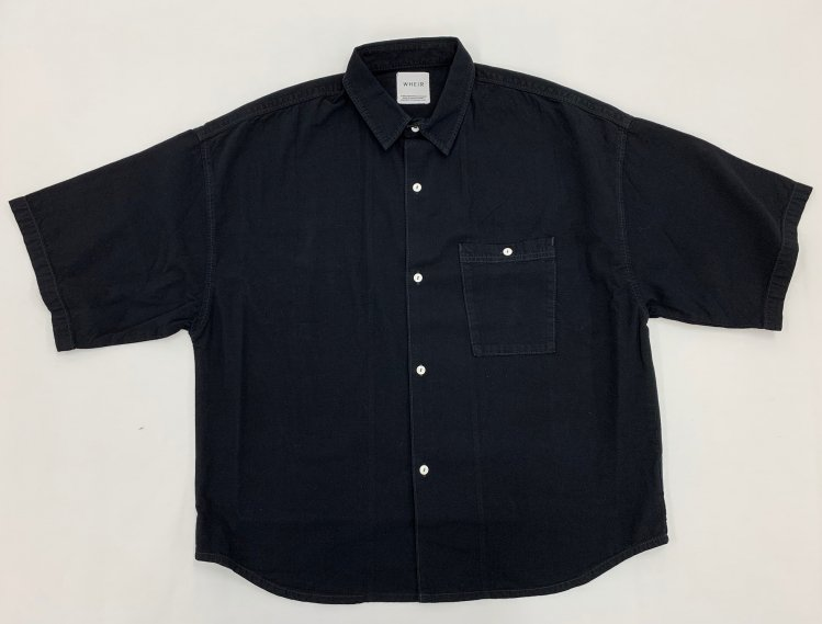 Oversized Short Sleeve Shirt<br>[Men's]<br><img class='new_mark_img2' src='https://img.shop-pro.jp/img/new/icons17.gif' style='border:none;display:inline;margin:0px;padding:0px;width:auto;' />