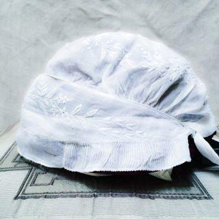 フランスアンティーク ベビー用帽子