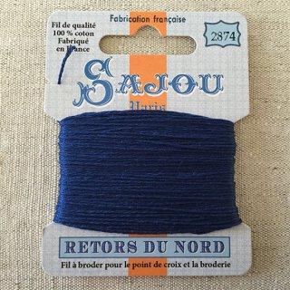 フランス刺繍|コットン糸 Retors du Nord#2874 ジタン