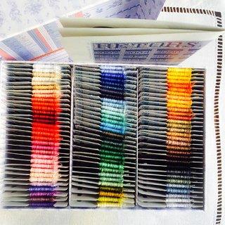 サジュー| 《予約受付中》Retors du Nord 4本取り 刺繍糸 96色セット