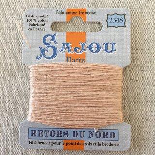 フランス刺繍 コットン糸 Retors du Nord #2348 肌色