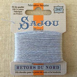 フランス刺繍|コットン糸 Retors du Nord #2847 ペールブルー