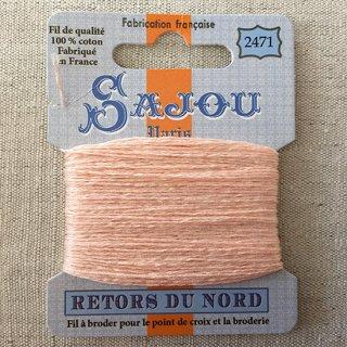 フランス刺繍|コットン糸 Retors du Nord #2471 花びら