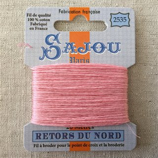 フランス刺繍|コットン糸 Retors du Nord #2535 恥じらい