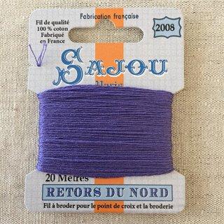 フランス刺繍|コットン糸 Retors du Nord #2008 ルピナス