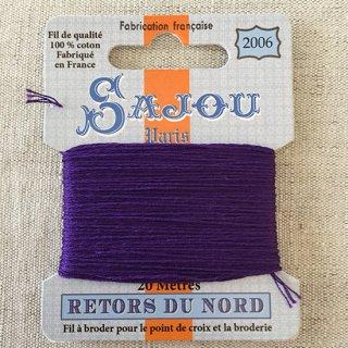 フランス刺繍|コットン糸 Retors du Nord #2006 ヴィオレ