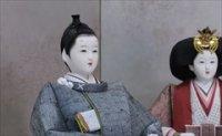 小倉草園 三五立雛 正絹紬 -紬の約束-