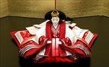 平安寿峰 京十番親王 正絹 梅桜