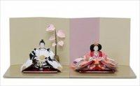小出松寿作 SOU・SOUテキスタイルの雛人形 「ひなたぼっこ」、「間がさね 宮美」「菊づくし りょうふう」