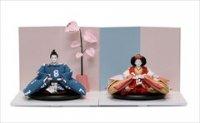 小出松寿作 SOU・SOUテキスタイルの雛人形 「SO-SU-U」