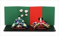 小出松寿作 SOU・SOUテキスタイルの雛人形 「風雅」「けんらん」
