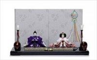 京都 尊正 京十一番 正絹手描京友禅 「桜吹雪にさくら」