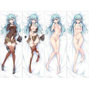 艦隊これくしょん -艦これ- 鈴谷 抱き枕カバー 2枚重ね脱着式 同人サークル麦芽堂オリジナル作品