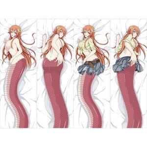 モンスター娘のいる日常 ミーア 抱き枕カバー 2枚重ね脱着式 同人サークル麦芽堂オリジナル作品