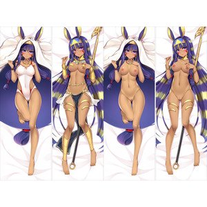 Fate/Grand Order ニトクリス 抱き枕カバー 18禁 同人 脱着式2枚重ね 麦芽堂 bz12718