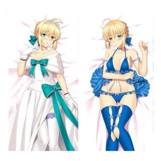 Fate アルトリア・ペンドラゴン 抱き枕カバー 同人 1/2サイズ 萌工房 smz09962-1
