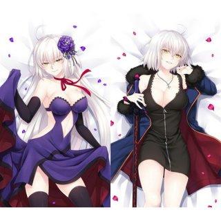 Fate/Grand Order ジャンヌ・ダルク 抱き枕カバー 同人 1/2サイズ 萌工房 smz09960-1