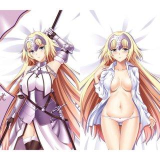 Fate/Grand Order ジャンヌ・ダルク 抱き枕カバー 同人 1/2サイズ 萌工房 smz09953-1