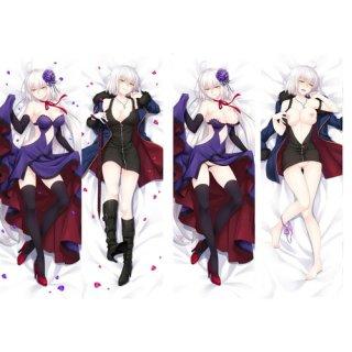 Fate/Grand Order ジャンヌ・ダルク 抱き枕カバー 18禁 同人 脱着式2枚重ね 萌工房 mz09960-3