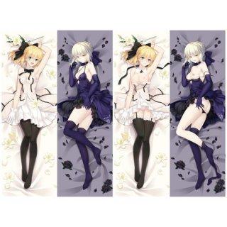 Fate アルトリア・ペンドラゴン 抱き枕カバー 18禁 同人 脱着式2枚重ね 萌工房=MGF mz09943-3