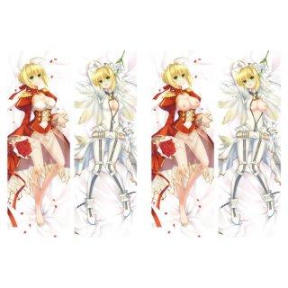 Fate Grand Order ネロ・クラウディウス 抱き枕カバー 18禁 同人 脱着式2枚重ね 萌工房=MGF mz09938-3