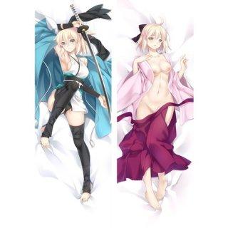 Fate/Grand Order 桜セイバー(沖田総司) 抱き枕カバー 18禁 同人 萌工房 mz09948-2