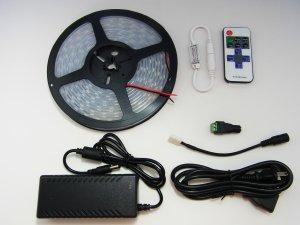 インテリア・バーライト・シングル-防水 トゥルーホワイト(IP67両面テープなし)セット