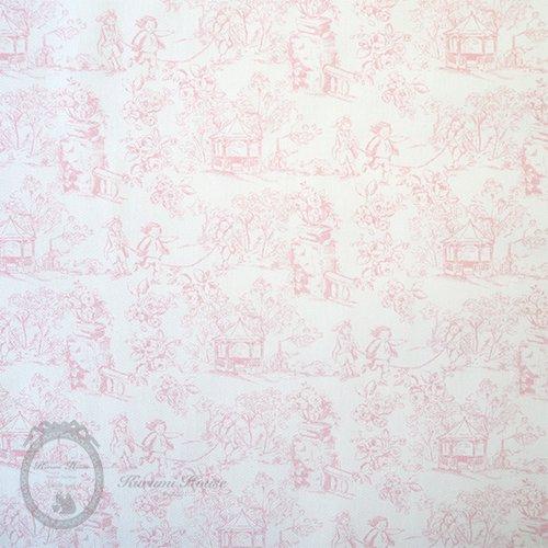 ピュアジュイ子供柄◆ピンク