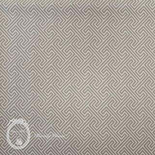 イギリス直輸入◆コットン・モノグラム【ベージュ.グレー】
