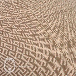 カット済み(45×45cm)◆イギリス直輸入◆コットン・モノグラム【オレンジ】