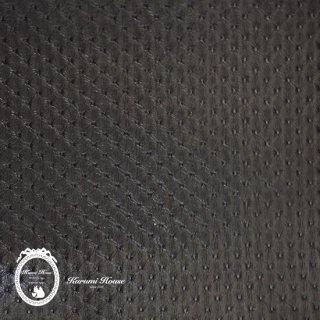 型押しエコレザー【ブラック】