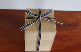 国産桐・桐箱(内のり15×15〜21)真田紐付き