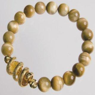 金運を招くゴールドスネークブレスBLA-0583