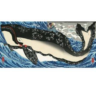 歌川国芳/宮本武蔵の鯨退治AD-2828