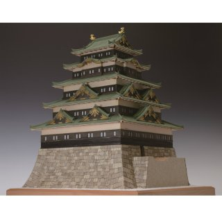 木製建築模型 1/150 江戸城
