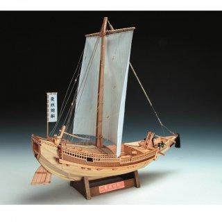 木製帆船模型 1/72 菱垣廻船 (ひがきかいせん)