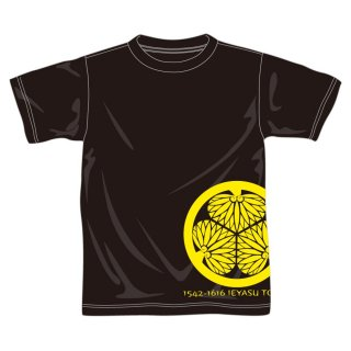 戦国武将Tシャツ/徳川家康