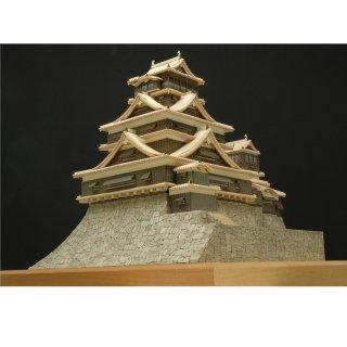 木製建築模型 1/150 熊本城