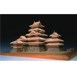 木製建築模型 1/150 松本城